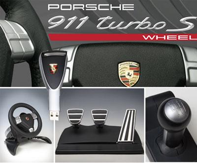 Aidon Porsche 911 hallintalaitteiden mukaan tehty peliohjain