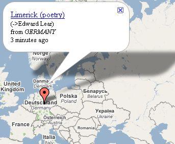 Seuraa kartalta lähes reaaliajassa, missä Wikipediaa päivitetään