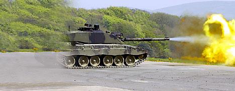 Briteissä kehitteillä panssarivaunut ja joukot näkymättömäksi tekevä laite