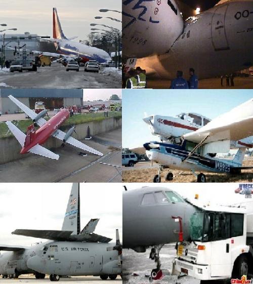 Kolareita lentokoneilla