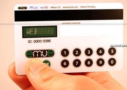 Luottokortti, joka varmentaa itse itsensä