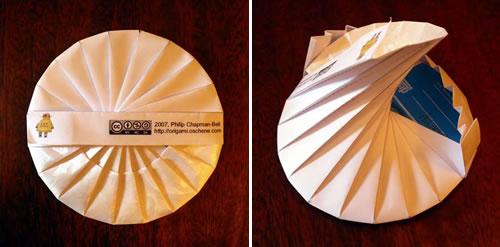 Origami CD-kotelo