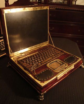 Datamancerin steampunk-läppäri