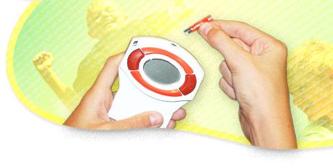 Glucoboy - verensokerin mittauspeli sokeritaudista kärsiville lapsille