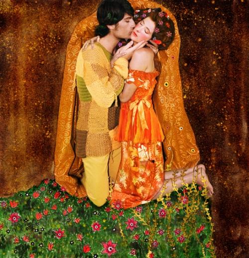 Gustav Klimt valokuvattuna