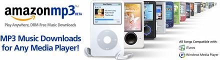 Verkkokauppa Amazonin MP3 kauppa avautuu globaalisti