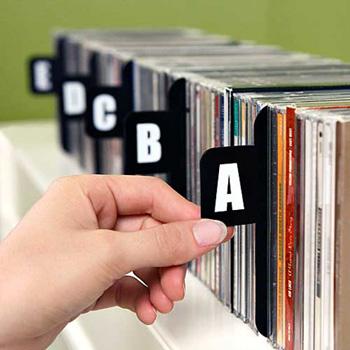 CD/DVD -levyorganisoija