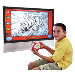 "Deluxe Etch A Sketch TV ""videopeli"""