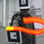 Kolmiulotteista virtuaaligraffititaidetta reaaliajassa