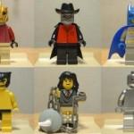 Itse tehtyjä Lego-hahmoja