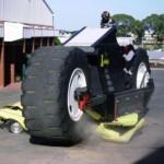 13,6 tonnin monster-moottoripyörä