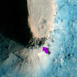 Mars-planeetalta löydettiin ovi