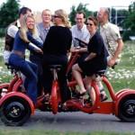 COBI – Seitsemänistuttava hollantilainen konferenssipolkupyörä