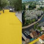 Hollantiin keltainen katu
