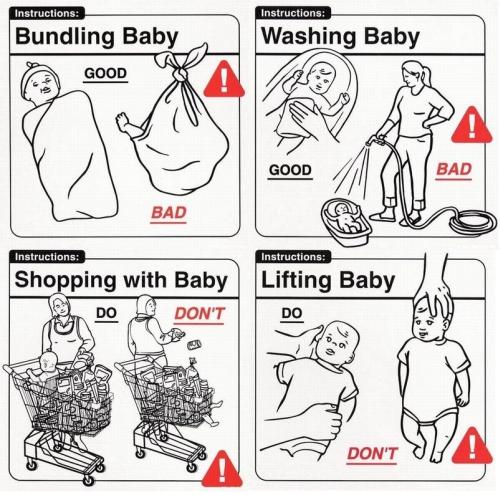 Vauvankäyttöohjeita