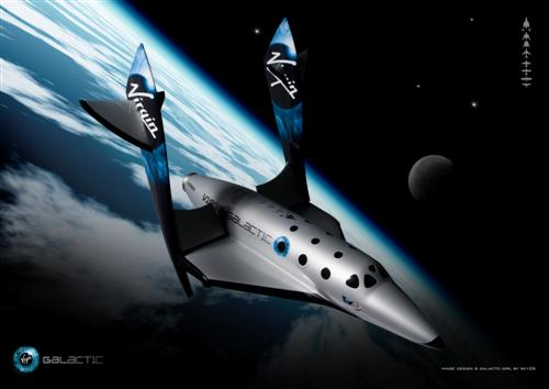 Virgin Galactic SpaceShipTwo - Avaruuteen 200 000 Dollarilla