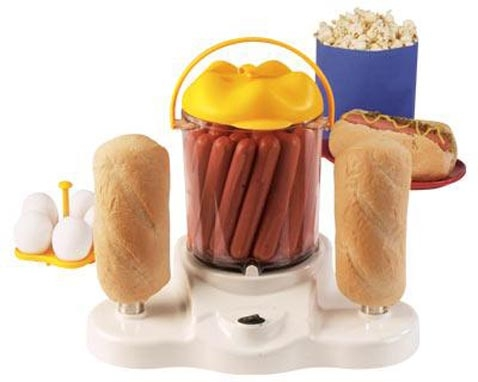 Sano kiloille kyllä: 4-in-1 Hot Dog Cooker
