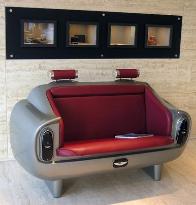 Aston Martin DB6 Couch -sohva