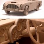 Pahvinen Aston Martin DB5