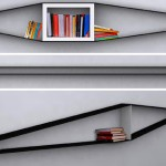 Elastico-Bookshelf -konsepti