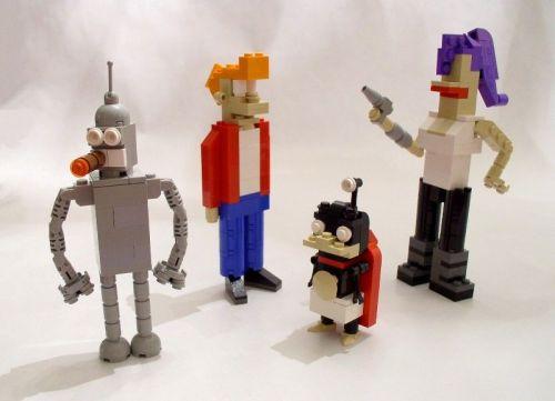 Futurama-hahmot Legoista