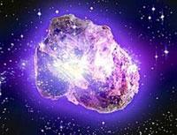 Suurin timantti on avaruudessa
