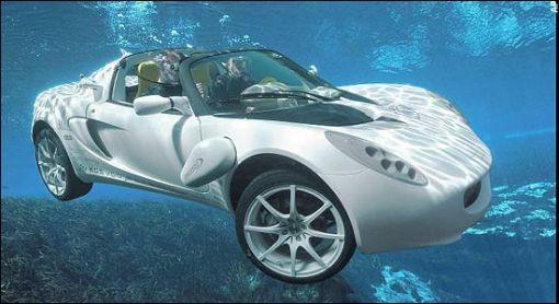 Rinspeed sQuba - maailman ensimmäinen sukellusveneauto