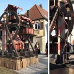 Keskiaikainen poljettava maailmanpyörä