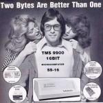 """Kotitietokoneesta """"työjätti"""" 16 kilotavun muistilla ja muita vanhoja tietokonemainoksia"""