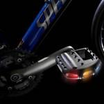 Pedalite: led-valot pyörän polkimiin