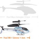 PicoZ MX-1 Extreme on uusi maailman pienin kauko-ohjattava helikopteri