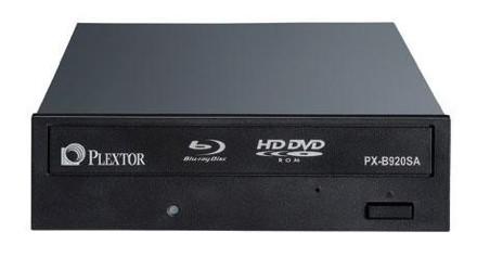 Plextor esittelee Blu-ray / HD DVD -yhdistelmäaseman