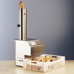 Robot Coupe bread slicer pistää patongit siivuiksi pika-ajassa
