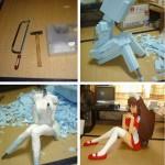 Tee-se-itse anime-tyttöystävä