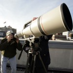 Canon 1200/5.6L USM telephoto -objektiivi kuvaa kilometrin päästä