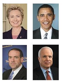 Viikkokysely: Kenestä toivoisit tulevan USAn seuraava presidentti?