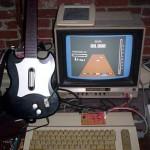 Guitar Hero Commodore 64 tietokoneella