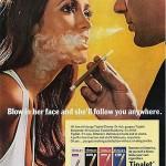 Vanhoja tupakkamainoksia