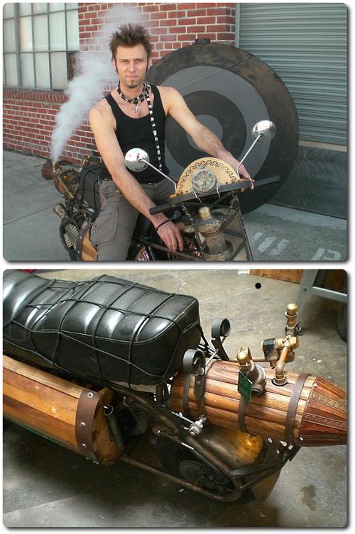 Steampunk-motskari