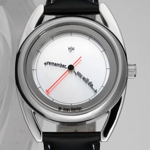 The Accurate -kello muistuttaa kuolemasta