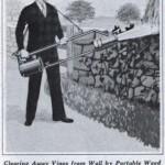 Rikkaruohot kuriin liekinheittimellä vuonna 1935
