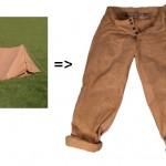 Stabo Bivvy Trousers ovat housut toisen maailmansodan teltasta