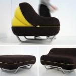 The Eclosion pump-up sofa on uudenlainen vuodesohva