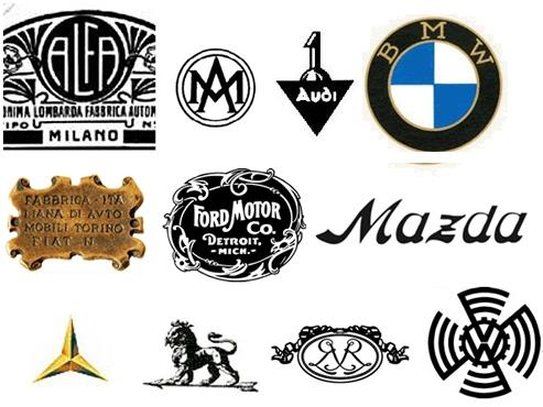 Automerkkien logojen kehityskaaria