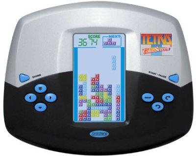 Värillinen Tetris-peli