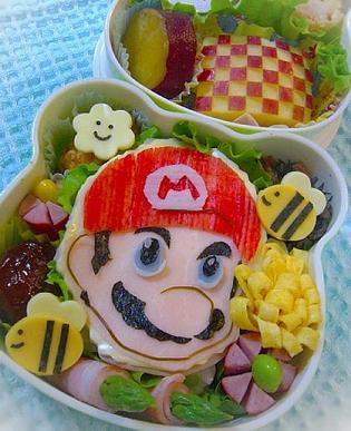 Super Mario sushiannos