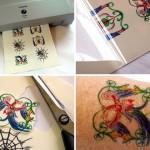 Tulostettava tatuointi