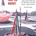 Rakettipostia luvassa vuonna 1965
