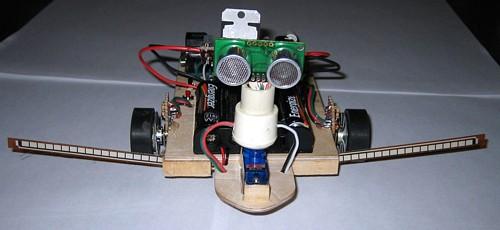 Map Bot -robotti kartoittaa lattian