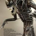 Tilaa olohuoneen koristeeksi täysikokoinen Alien replika